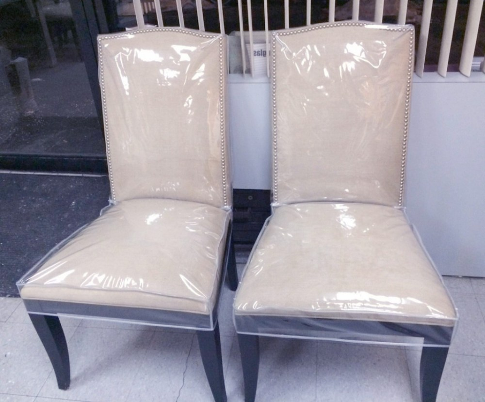 plastic dinning room chair covers